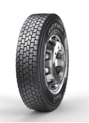 The R89 Open Shoulder Drive tire from Pirelli is available in six sizes.