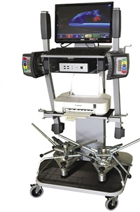 Rav America says larger operations with high traffic will avoid scheduling conflicts by having a standalone FastCheck Test System (pictured) and a FastLiner Alignment System.