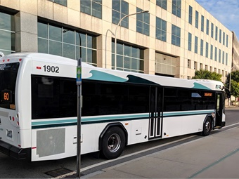 The thirty-three new buses, manufactured by GILLIG in California, are part of regular fleet refurbishment and replace older buses that are being retired. RIPTA