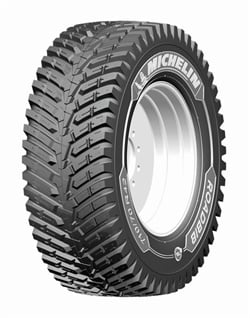 Michelin says the RoadBib this is the first solution for 200-plus-horsepower tractors and is designed for intensive paved and gravel road use.