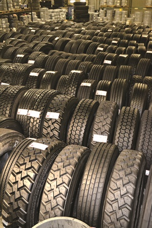 Retreading accounts for about 16% of Ziegler Tire's business.