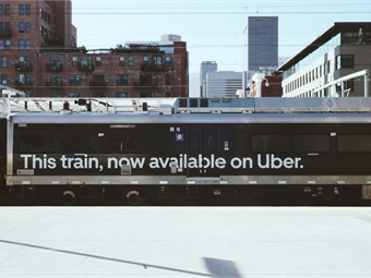 In addition to train cars wrapped with Uber Transit imagery, riders will also see electronic information displays at RTD stations, materials aboard the transit agency's entire fleet of vehicles, social media, emails, and notifications within the Uber app.