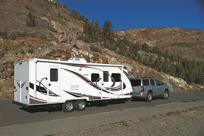 Much of the growth in the RV market is due to strong sales of trailers that can be towed behind an SUV or minivan. The RV industry's trade association has adopted a standard that requires its member companies equip towable RVs with radial ST tires.