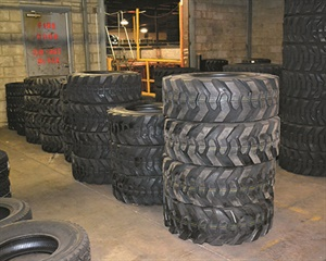 With nearly 100 skid steer tires in stock, North Gateway Tire can quickly meet a customer's needs.