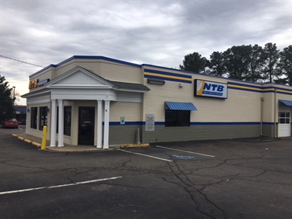 This former Merchant's Tire store in Richmond, Va., has been rebranded into a NTB Tire and Service Center. The company says there are 47 Merchant's locations remaining.