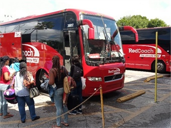 Florida-based RedCoach, one of the country's largest premium operators, is similarly wooing jet-setters using a somewhat different business model. Joseph P. Schwieterman