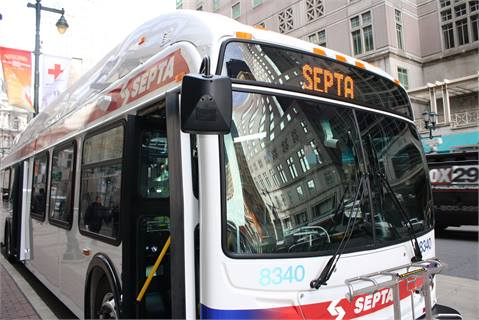With its buses, SEPTA is replacing the traditional mechanically-driven engine cooling function with an electronically-driven system to improve its fuel economy. Two pilot units had an 8% to 10% fuel saving.