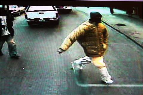 Ronald Moore, running to the scene of a 2008 bus accident.