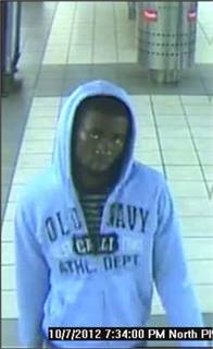 Shawn Walker, the suspect who was arrested for allegedly shooting a rider at the North Philadelphia Broad Street Line Station.