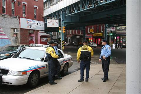 SEPTA Police are maintaining a presence at the intersection of Somerset and Kensington and at Somerset Station.