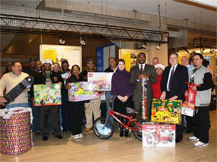 Every holiday season for more than 30 years, SEPTA employees have donated thousands of presents for deserving  children in the Greater Philadelphia region.