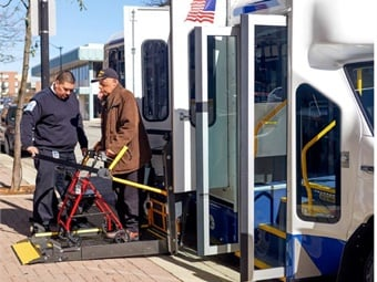 Many paratransit systems are implementing online tools customers can use to manage and monitor service. RTA