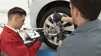 Here is the Specialist Tyre Operative program at work. Photos courtesy Remit Group.