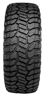"""In terms of the design, the rugged-terrain, like the Renegade RT+, """"has a more closed center tread portion, while the mud-terrain has high void throughout the tire,"""" says Omni United's Michael Cati."""