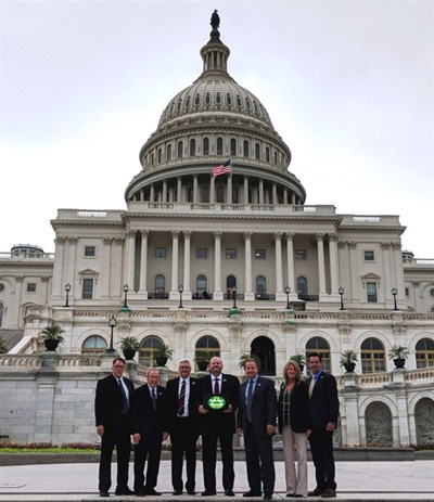 Retread Instead supporters who participated in TIA's federal lobby day were Jeffrey Parks, Bob Majewski, Ron Elliott, Dexter Matthers, Gail Walker, Gene Walker and Lazaro Gonzalez.
