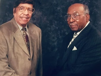 "Reverend Jerry A. Moore and Harold B. Williams were inducted into the Hall of Fame for their work as COMTO co-founders and visionary ""drum majors"" for industry diversity and inclusion."