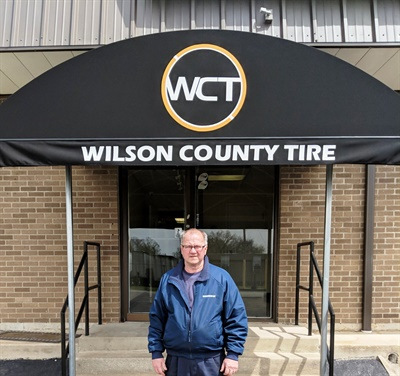 Rick Majewski says Wilson County Tire & Retreading has realized a long-term expansion goal.