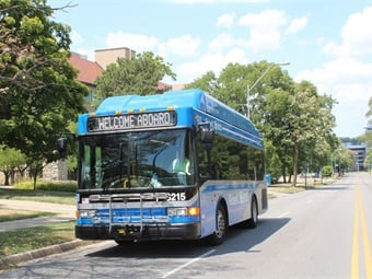 Thanks to the replacement of KCATA's oldest vehicles, the KCATA fleet now has Wi-Fi on 100% of its buses. KCATA