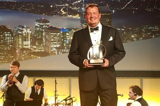 Rodell Notbohm of Apollo Video Technology was named EY's Entrepreneur of the Year 2017 in the media, entertainment, and communication category in the Pacific Northwest.