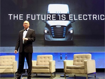 During his keynote speech at the 2019 ACT Expo in Long Beach, California, Roger Nielsen stated the future of commercial vehicles is battery-electric.