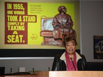 U.S. Representative Eddie Bernice Johnson. Photo: DART