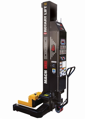 The industry's only wireless remote-controlled mobile column lifts, the Mach™ Flex powered by RedFire™, provides unprecedented visibility when lifting long vehicles.