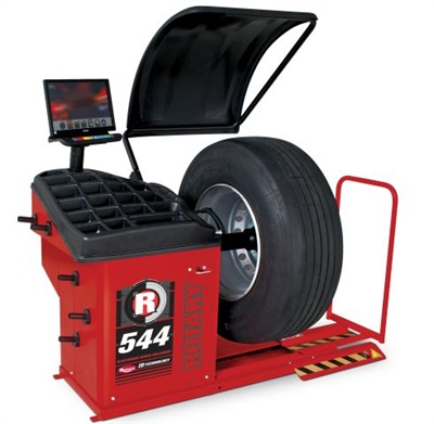 Rotary Lift's R544 Pro Truck 2D wheel balancer is designed to help technicians quickly and accurately balance a variety of commercial bus-, truck-, and passenger-vehicle wheels.