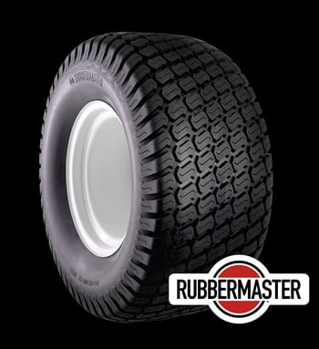 "Countrywide Tire has added a rounded shoulder turf maintenance tire with an ""S"" pattern tread design to its RubberMaster line."