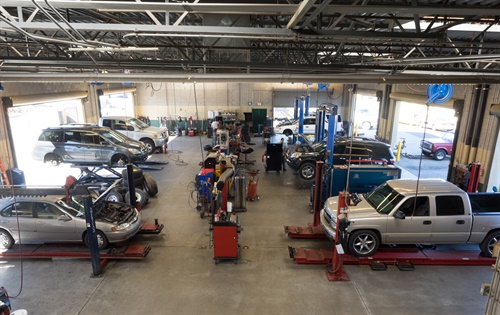 "Rob Slagle says maintaining a team of technicians and offering a full menu of automotive services are key to the success of his dealership. ""Auto repair is a profitable part of our business."""
