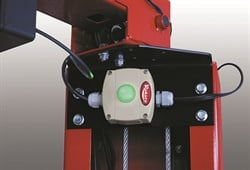 """Lift makers continue to add convenience features, such as a """"lock"""" light that illuminates to verify when the lift is secured onto its mechanical locks."""