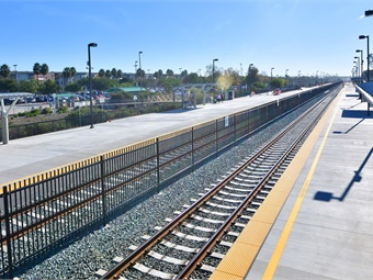 The $33.7 million Poinsettia Station Improvements project was funded through a combination of federal, state, and local sources.