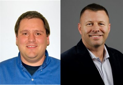 Jeff Holbert (left) and Steve Fedor (right)are the newest members of the west coast sales and technical services team for climate control systems supplier Trans/Air.