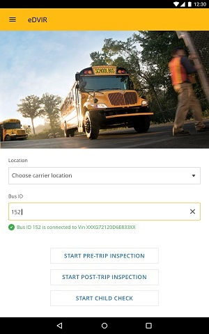 OnCommand Connection's eDVIR allows drivers to submit electronic pre- and post-trip inspections to maintenance technicians.