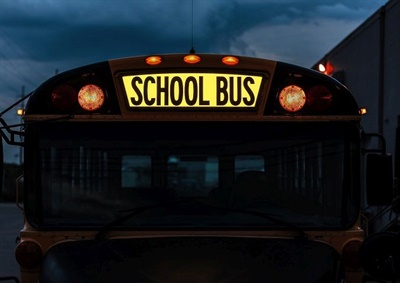 First Light Safety Products is pilot testing its Illuminated School Bus Sign on 16 school buses in New York in April.
