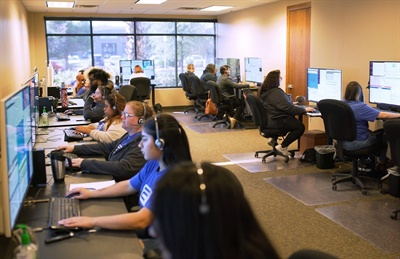 In several of the states it operates in, ALC Schools has created a series of teams to oversee routing and dispatch services, field operations, and driver compliance for its alternative-vehicle service. Photo courtesy ALC Schools