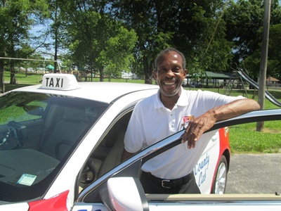 Voluntary Interdistrict Choice Corp. (VICC) in St. Louis, Mo., currently runs about 150 taxicabs to provide school transportation for some of its out-of-district students. Photo courtesy Tami Webb