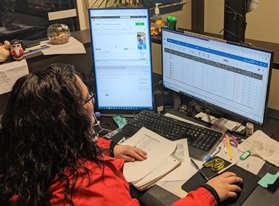 Reynolds School District in Fairview, Ore., is currently testing out the time and attendance features of Bytecurve 360 with about a quarter of its 87 bus drivers. Photo courtesy Reynolds School District