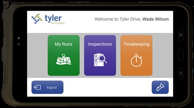 Tyler Drive's integration with ExecuTime, Tyler Technologies' payroll solution, is in development for release in late 2020. Photo courtesy Tyler Technologies