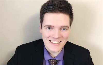 Sawyer Hogenkamp is an Ontario Certified Teacher and holds a Masters degree in Education from Queen's University, Canada. Photo courtesy Sawyer Hogenkamp