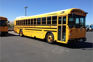 William S. Hart Union High School District in Santa Clarita, California, is using school buses converted to activity buses to save money on field trip transportation.