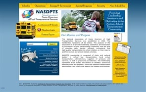 NASDPTS chose to organize the information on its website by topic when it revamped the site this year.