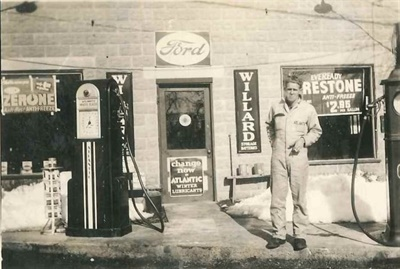 George Krapf Jr. and Sons, as the company was first known, was founded in 1942, beginning with only two buses in operation. Pictured here is George Krapf Jr. around 1941.