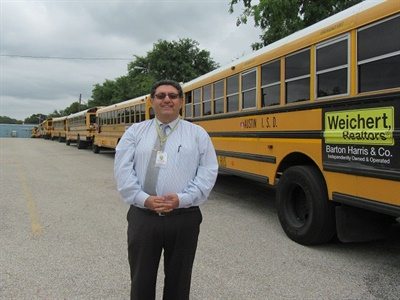 Austin ISD transportation leader Kris Hafezizadeh was born in Iran and has also lived in Turkey and Montreal.