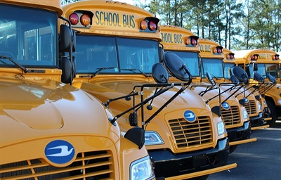 Blue Bird's Propane Vision school buses now have an option for an ultra-low nitrogen oxide engine.