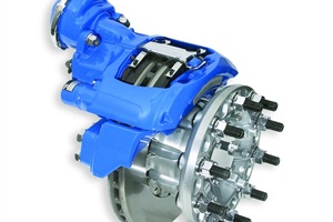 Blue Bird Corp. just launched air disc brake (shown here) systems on all of its 2014 Vision and All American models and plans to roll out some automated advancements in the next model year.