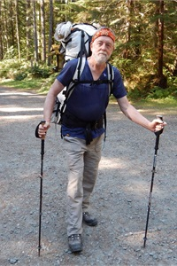 Washington state director Allan Jones enjoys backpacking in OlympicNational Park.