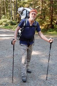 Washington state director Allan Jones enjoys backpacking in OlympicNational Park.