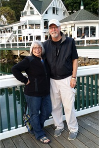 Michael Shields and his wife, Debbie, enjoy experiencing the variety of the Pacific Northwest. They are pictured here at Roche Harbor on Washington's San Juan Island.