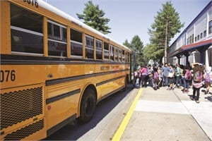 The duration of different types of schools, the distance between them, the size of the service area and other factors make the tiered transportation approach more complex.Photo courtesy NHTSA