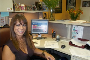 Although she currently works in the transportation department at Miami-Dade County Public Schools, Sandra Garcia has worked in others during her 28-year career at the district, which she says has given her an opportunity to learn the different aspects of each and see their importance.